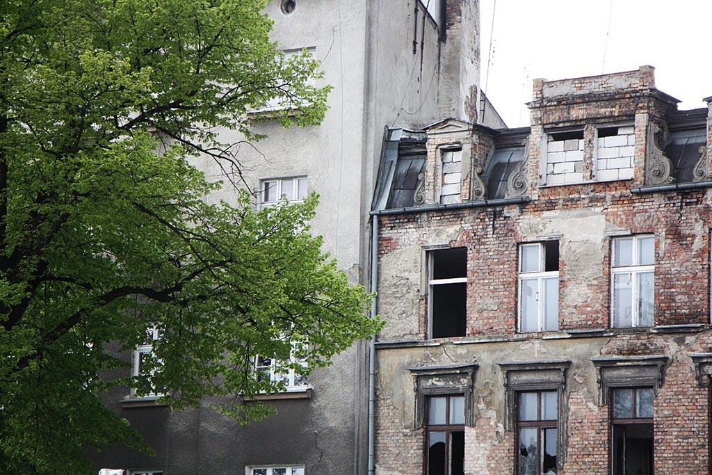 2 stare kamienice gdanska
