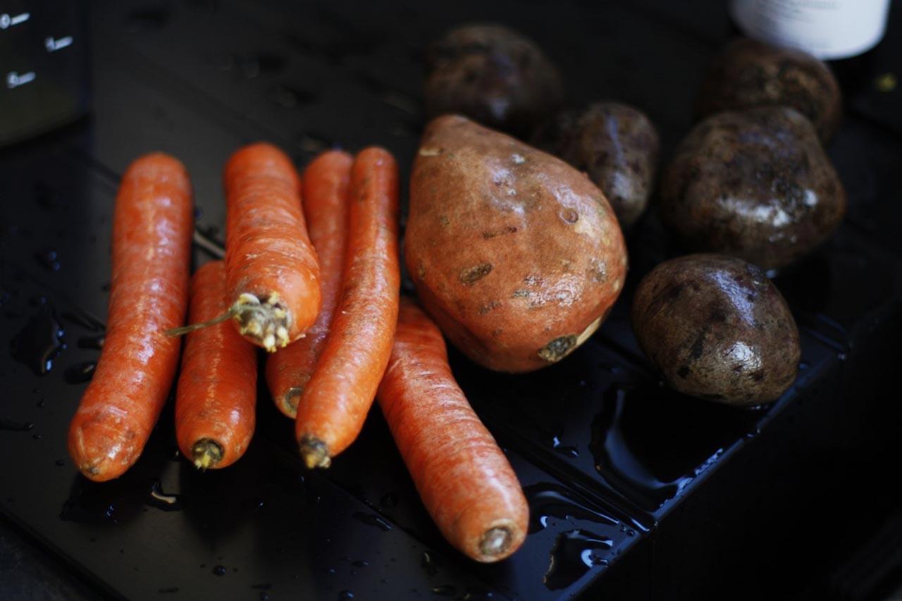 pieczone warzywa na kolacje