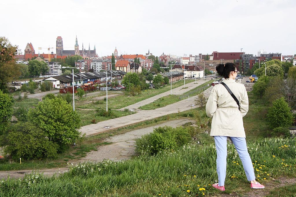 5 panorama gdanska bastiony