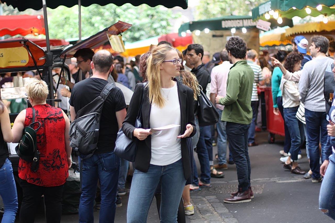 Francuskie randki w Londynie